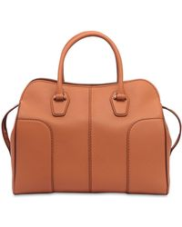 Tod's - Sella Soft Leather Top Handle Bag - Lyst