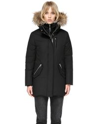 Mackage - Marla Mid Length Winter Down Coat With Fur - Lyst