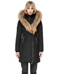 Mackage - Kay Mid Length Winter Down Coat With Fur Collar - Lyst