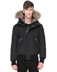 Mackage - Dixon Hip Length Winter Down Parka With Fur - Lyst