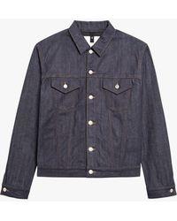 Mackintosh - Dark Indigo Denim Jacket D-mj001v - Lyst