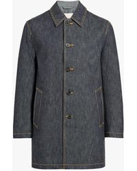 Mackintosh - Dark Indigo Denim Coat - Lyst