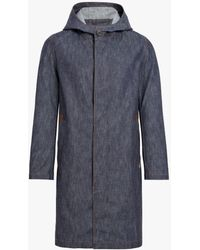 Mackintosh - Dark Indigo Denim Hooded Coat D-mc007d - Lyst