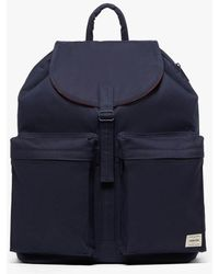 Mackintosh - Navy Bonded Cotton Porter Back Pack - Lyst