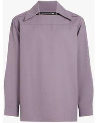 Mackintosh - Lavender Wool 0003 Overshirt - Lyst