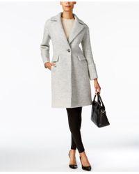 Anne Klein   Single-button Walker Coat   Lyst