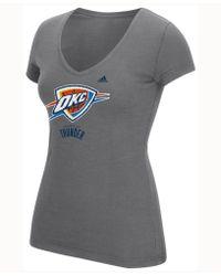 adidas - Women's Netted Shine T-shirt - Lyst