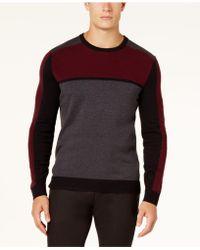 Alfani | Men's Colorblocked Sweater | Lyst