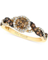 Le Vian | Diamond Ring (3/4 Ct. T.w.) In 14k Gold | Lyst