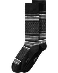 Alfani - Blocked-stripe Dress Socks, Created For Macy's - Lyst