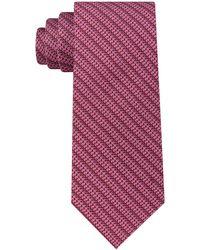 Michael Kors - Mk Grid Silk Tie - Lyst