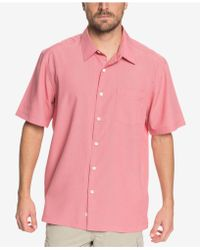 Quiksilver - Waterman Cane Island Shirt - Lyst