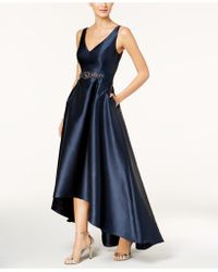 Adrianna Papell - Embellished High-low Gown - Lyst