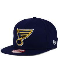 KTZ   St. Louis Blues All Day 9fifty Snapback Cap   Lyst