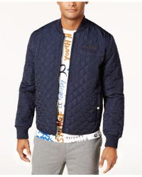 Sean John - Men's Quilted Linear Jacket - Lyst
