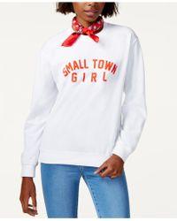 Sub_Urban Riot - Small Town Girl Graphic Sweatshirt - Lyst