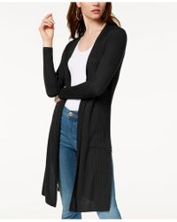 INC International Concepts - I.n.c. Petite Ribbed Open-front Duster Cardigan, Created For Macy's - Lyst