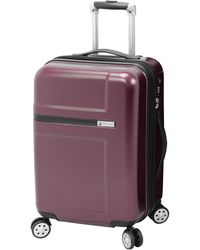 "London Fog - Southbury 21"" Hardside Expandable Spinner Carry-on Suitcase, Created For Macy's - Lyst"