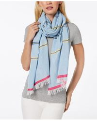 Echo - Cabana Stripe Cotton Scarf & Cover-up - Lyst