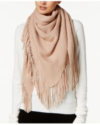 Vince Camuto - Downtown Triangle Fringe Scarf - Lyst
