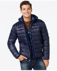 Tommy Hilfiger - Hooded Packable Jacket - Lyst