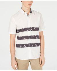 dd9ed323352 Lyst - Steven Alan Triple Double Denim Shirt in Natural for Men