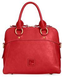 0ccb17c62c5c89 Dooney & Bourke - Cameron Medium Florentine Leather Satchel - Lyst