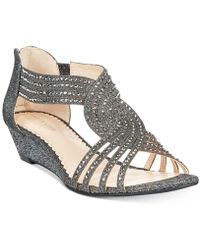 Charter Club Ginifur Wedge Sandals, Created For Macy's - Multicolour