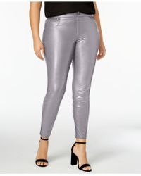 Hue | Women's Plus Size Faux Leatherette Leggings | Lyst