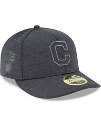 big discount best loved wholesale outlet Lyst - KTZ Cleveland Indians Low Crown Ac Performance 59fifty Cap ...