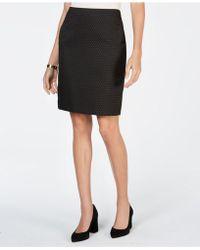 Anne Klein - Pencil Skirt - Lyst