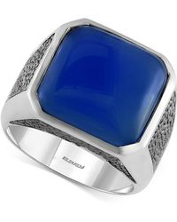 Effy Collection - Men's Lapis Lazuli (15-1/5 Ct. T.w.) Ring In Sterling Silver - Lyst