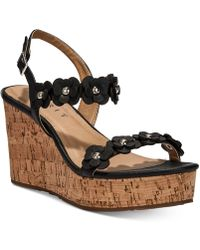 Esprit - Vinny Platform Wedge Sandals - Lyst
