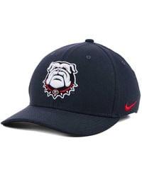 innovative design 5ca89 978ea Nike Georgia Bulldogs Aerobill True Fitted Baseball Cap in Red for Men -  Lyst