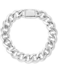 Effy Collection Curb Link Bracelet In Sterling Silver
