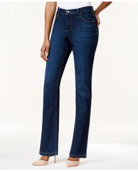 Lee Platinum - Petite Classic-fit Colored Wash Jeans - Lyst