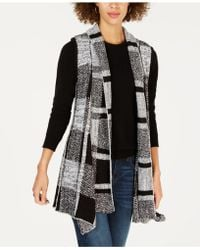 Style & Co. - Plaid Jacquard Vest, Created For Macy's - Lyst