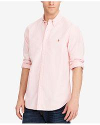 Polo Ralph Lauren - Solid Oxford Shirt - Lyst