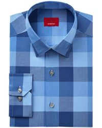 Alfani - Men's Slim-fit Stretch Mega Block Gingham Dress Shirt - Lyst