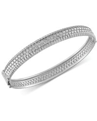 Effy Collection - Diamond Bangle Bracelet (2-1/6 Ct. T.w.) In 14k White, Yellow And Rose Gold - Lyst