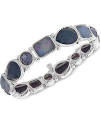 Nine West - Stone Stretch Bracelet - Lyst