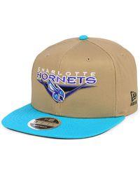 cheap for discount 8380f a6d34 KTZ - Charlotte Hornets Jack Knife 9fifty Snapback Cap - Lyst