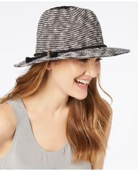 Vince Camuto - Tasselled Packable Panama Hat - Lyst