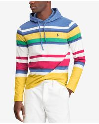 Polo Ralph Lauren - Cp-93 Striped Hoodie, Created For Macy's - Lyst