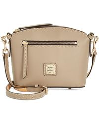 Dooney & Bourke - Beacon Domed Smooth Leather Crossbody - Lyst