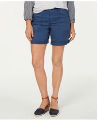 Style & Co. - Double-pocket Cuffed Shorts, Created For Macy's - Lyst