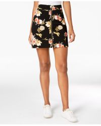 INC International Concepts - I.n.c. Petite Printed Mini Skirt, Created For Macy's - Lyst