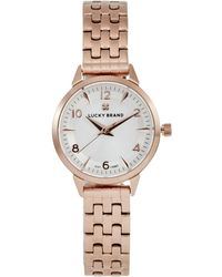 Lucky Brand - Women's Torrey Stainless Steel Bracelet Watch, 28mm - Lyst