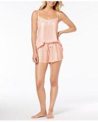 Linea Donatella - Day Dream Lace-trim Pajama Short Set - Lyst