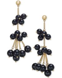 INC International Concepts - I.n.c. Gold-tone Stick & Ball Shaky Drop Earrings, Created For Macy's - Lyst